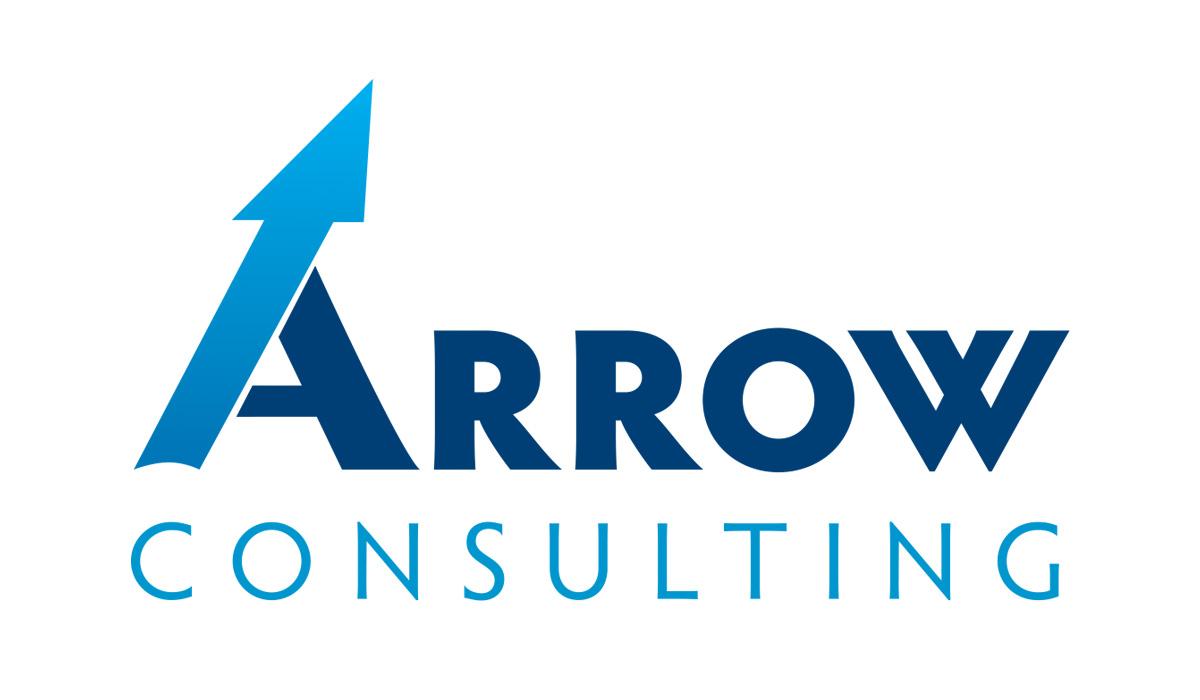 Arrow Consulting logo design