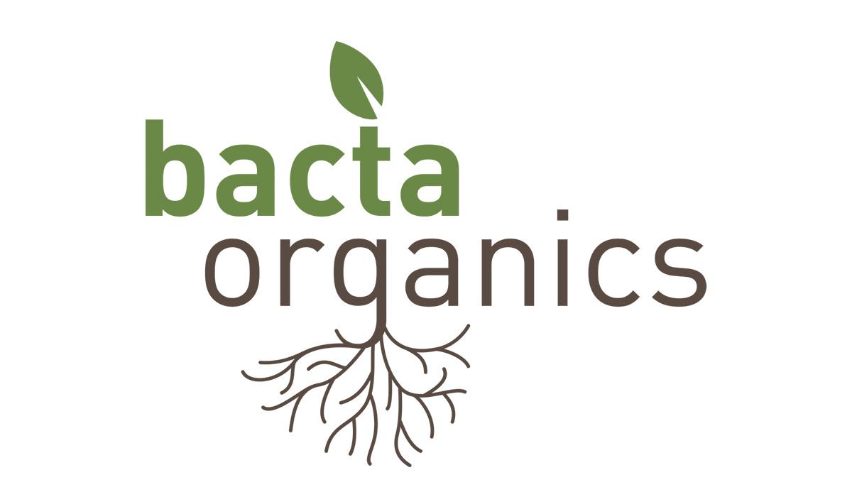 Logo design for Bacta Organics